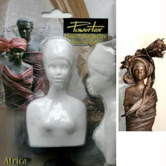 Buste Africaine moitié