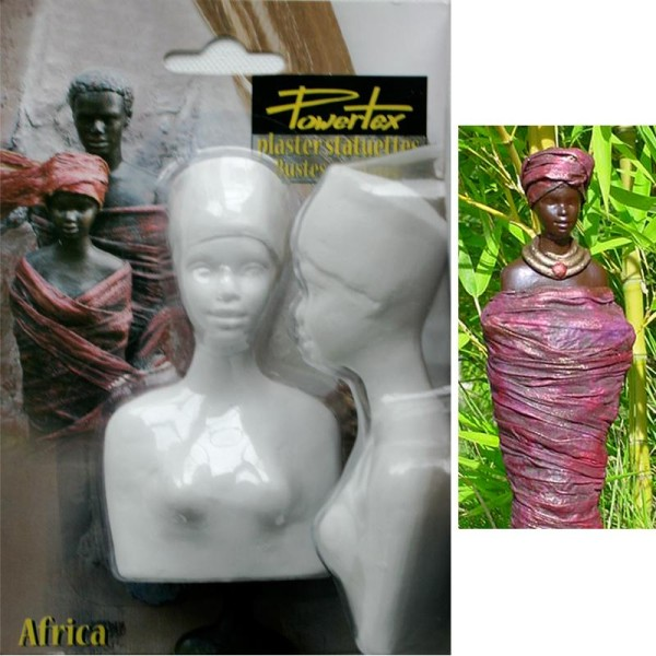 Buste Africaine entier - Photo n°1