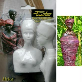 Buste Africaine entier