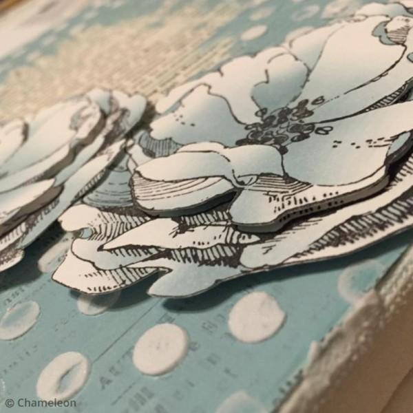 Coffret marqueurs Chameleon - Blue tones - 5 feutres - Photo n°3