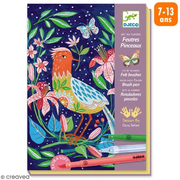 Coffret Coloriage Aux Feutres Au Jardin 11 Pcs Coffret Coloriage Creavea