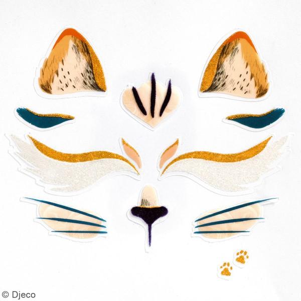 Stickers visage - Chat - Photo n°2