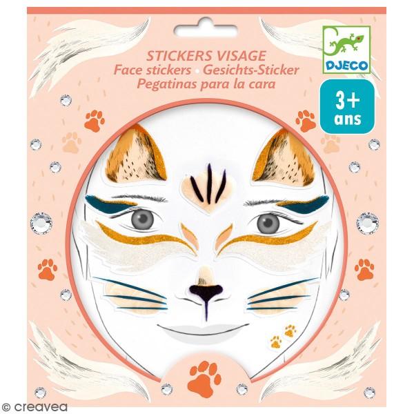 Stickers visage - Chat - Photo n°1