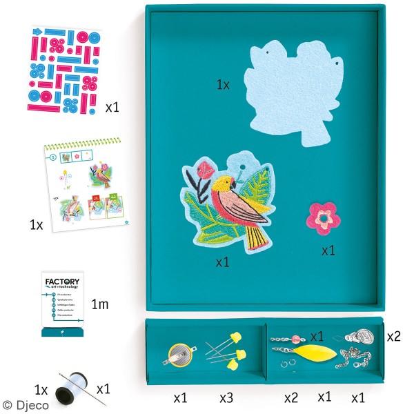 Kit créatif Djeco - Art & Technology - Collier lumineux Calypso - Photo n°2