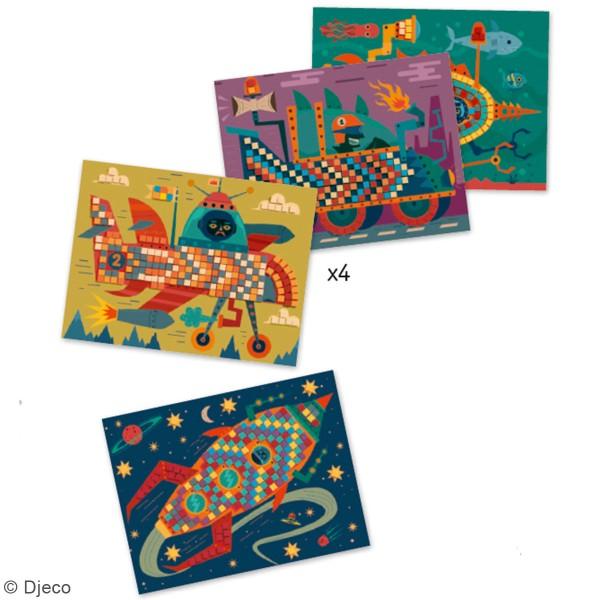 Kit mosaïque - Les as du volant - 16 pcs - Photo n°2
