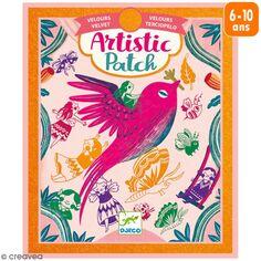 Kit Artistic Patch Djeco - Velours - Récréation