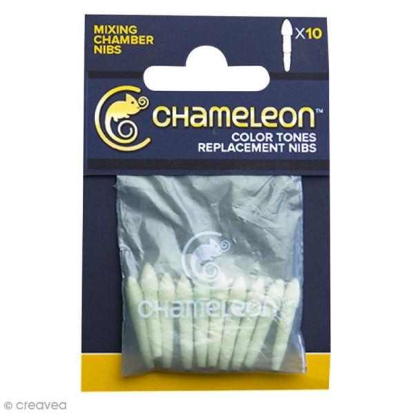 Pointes de rechange pour chambre de mélange marqueurs Chameleon - 10 feutres - Photo n°1