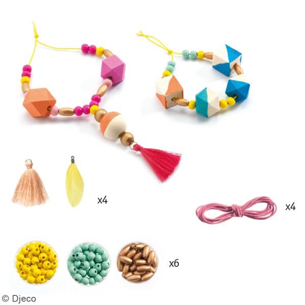 Kit Oh ! les perles - Perles et cubes - 34 pcs - Photo n°2