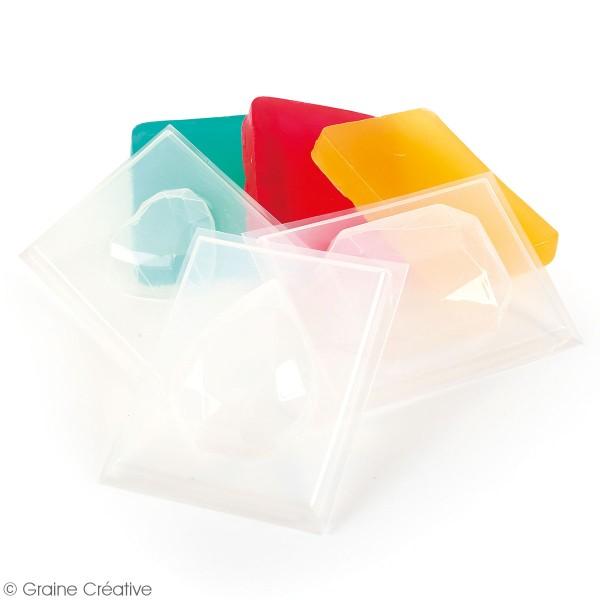 Pochette créative Mon atelier savon - Pierres précieuses - 6 pcs - Photo n°2