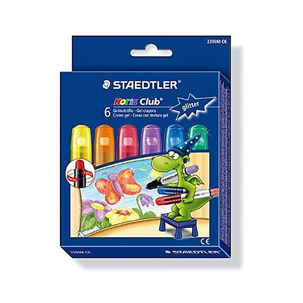 Staedtler - Noris Club - Pack de 6 Craies gels - Assortis - Photo n°2