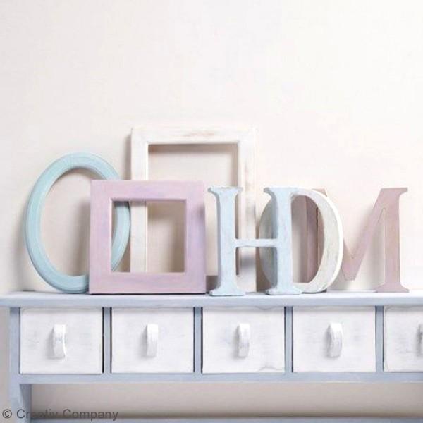 Lettre majuscule en bois à poser - 13 cm - Photo n°4