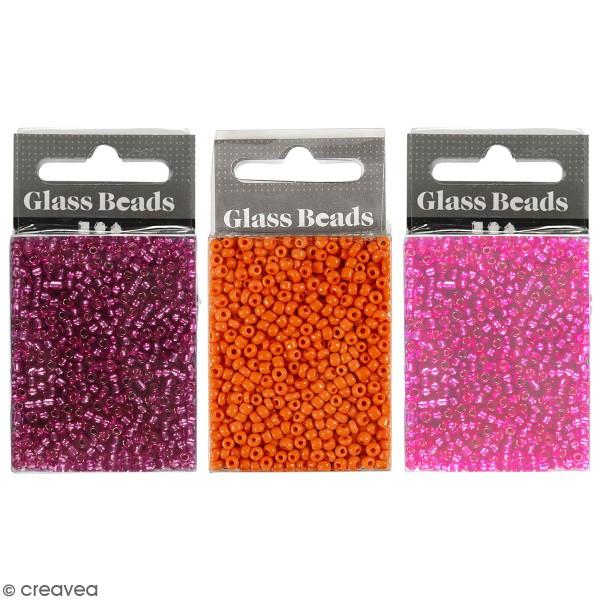 Perles de rocaille - 3 mm - 25 g - Photo n°1