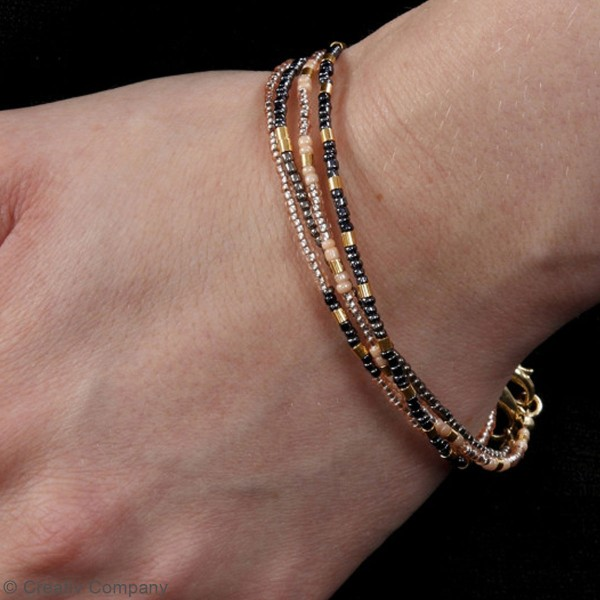 Perles de rocaille - 1,7 mm - 25 g - Photo n°3