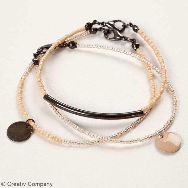 Perles de rocaille - 1,7 mm - 25 g - Photo n°4