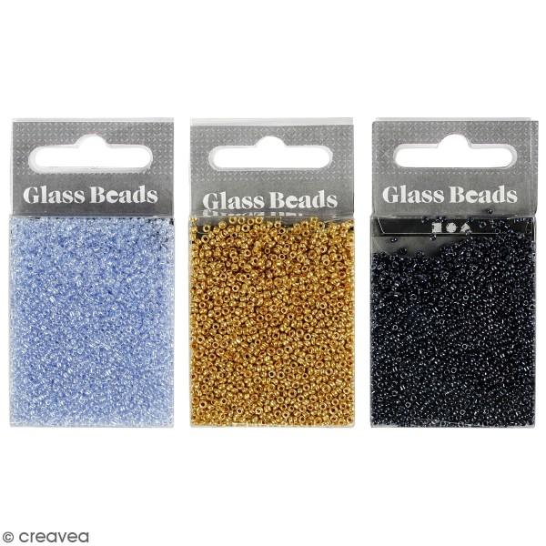Perles de rocaille - 1,7 mm - 25 g - Photo n°1
