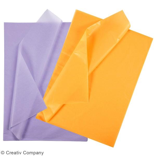 Papier de soie - 50 x 70 cm - 25 feuilles - Photo n°1