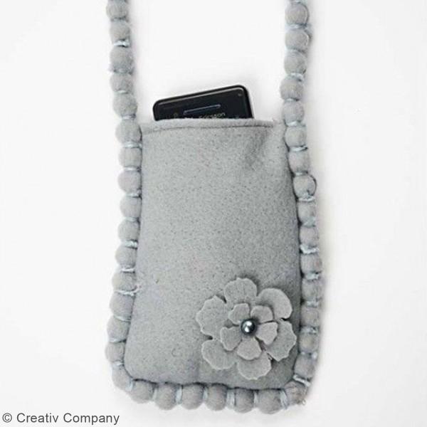 Demi-perles nacrées adhésives - 2 à 8 mm - 140 pcs - Photo n°6