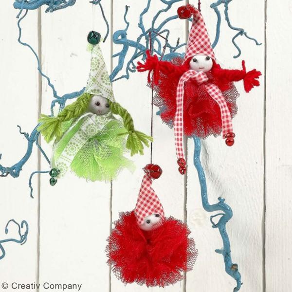 Rouleau de tulle - Différents coloris - 50 cm x 5 m - Photo n°3
