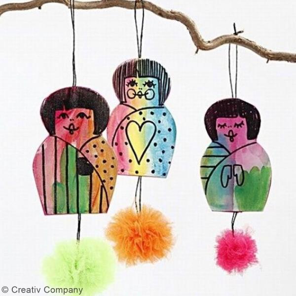 Rouleau de tulle - Différents coloris - 50 cm x 5 m - Photo n°5