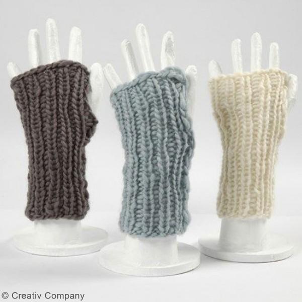 Aiguilles à tricoter - Bambou - 35 cm - Plusieurs tailles - Photo n°3