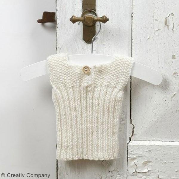 Aiguilles à tricoter - Bambou - 35 cm - Plusieurs tailles - Photo n°4