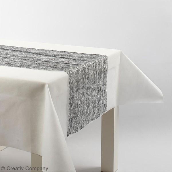 Chemin de table en filet - 30 cm x 10 m - Différents coloris - Photo n°2