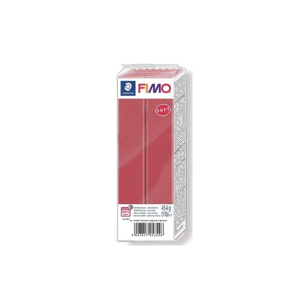 Pâte Fimo Soft 454g Rouge Cerise N°26 - Photo n°1