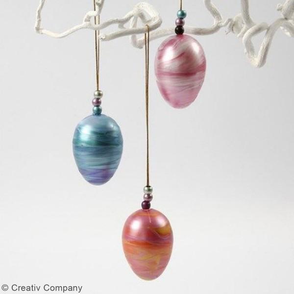 Peinture Acrylique Perle métallique A-Color - Différentes couleurs - 500 ml - Photo n°2