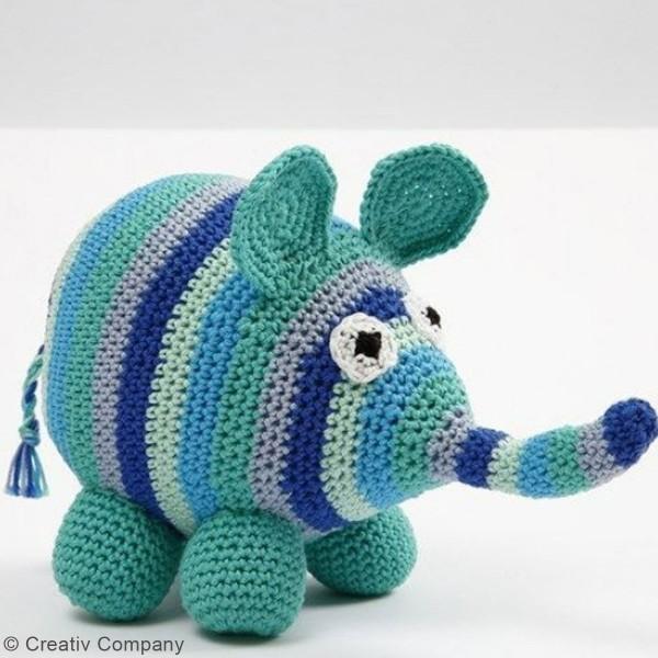 Pelote de laine Nice Cotton - Différents coloris - 50 gr - 165 m - Photo n°3