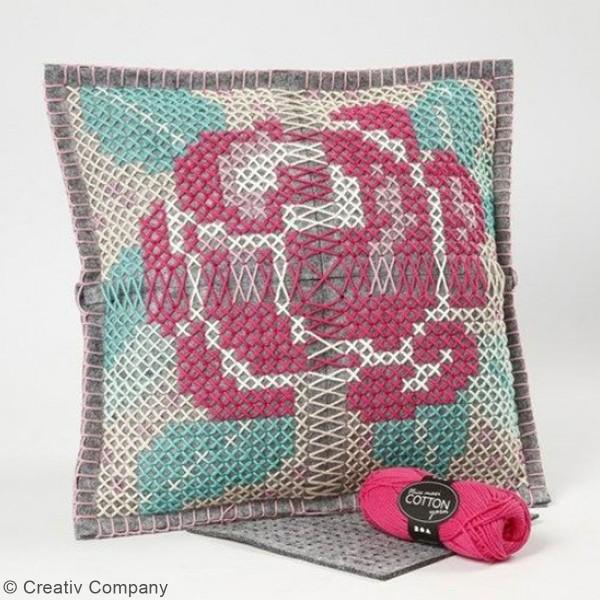 Pelote de laine Nice Maxi Cotton - Différents coloris - 50 gr - 80 m - Photo n°2
