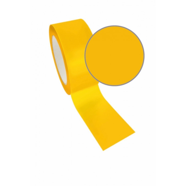 Ruban adhésif queen tape jaune uni 48mm x8m - Photo n°1