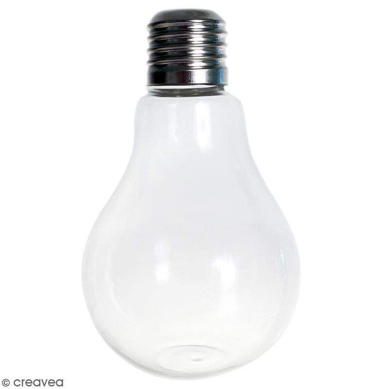 vase ampoule en verre 12 cm boules vases et. Black Bedroom Furniture Sets. Home Design Ideas