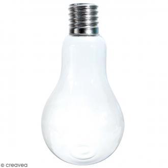 Vase ampoule en verre - 22 cm