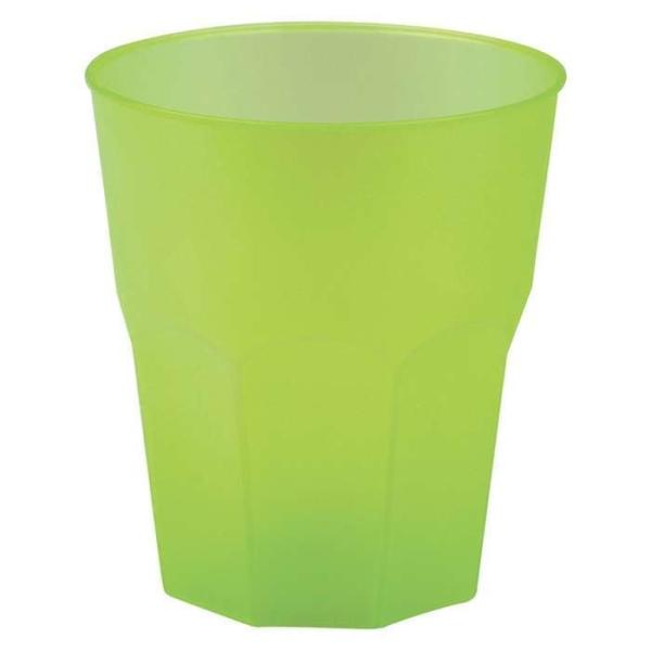 20 Gobelets Cocktail vert givré 35 cl - Photo n°1