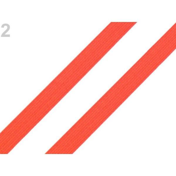 5m 2 Orange Réfléchissant Plaine Élastique Largeur de 10mm, de la Lingerie Et de la Boutonnière, Tri - Photo n°1