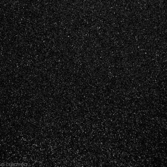 Tissu pailleté Noir - 70 x 45 cm