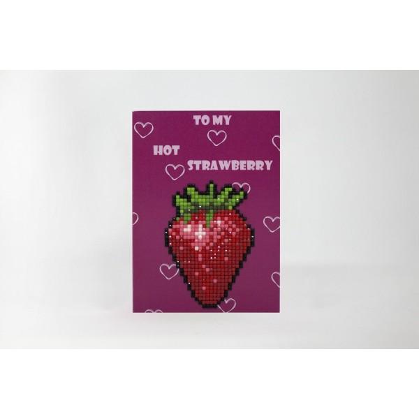 Broderie Diamant Kit- à ma fraise chaude  WC0124 - Photo n°2