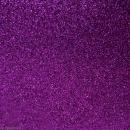 Tissu pailleté Violet - 70 x 45 cm - Photo n°1