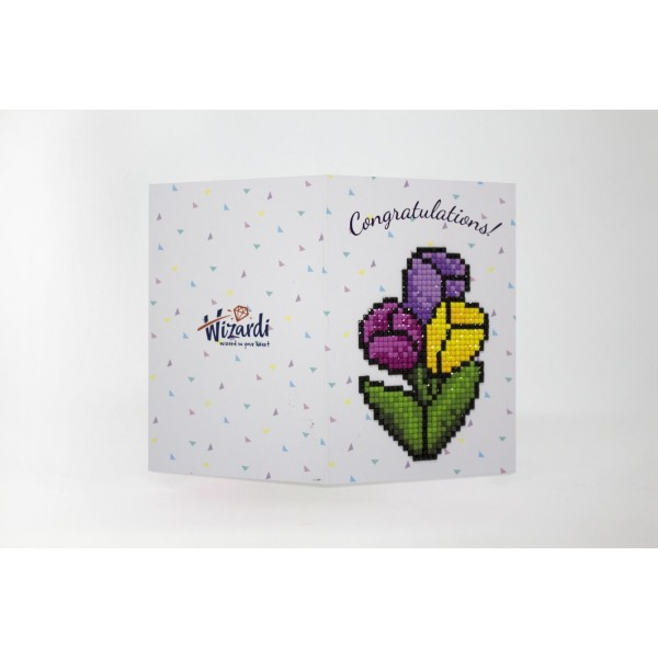 Broderie Diamant Kit- Félicitations  WC0173 - Photo n°1