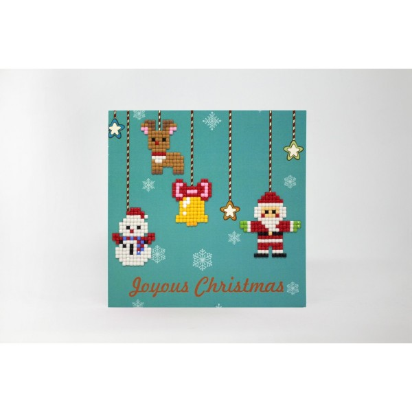 Broderie Diamant Kit- Joyeux Noël WC0206 - Photo n°2