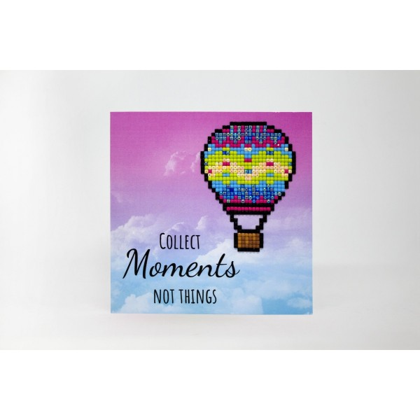 Broderie Diamant Kit- Recueillir des moments pas des choses WC0251 - Photo n°2