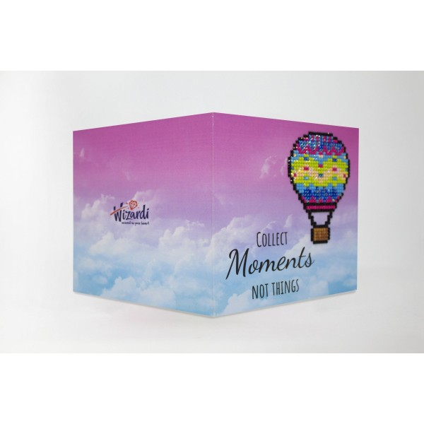 Broderie Diamant Kit- Recueillir des moments pas des choses WC0251 - Photo n°1