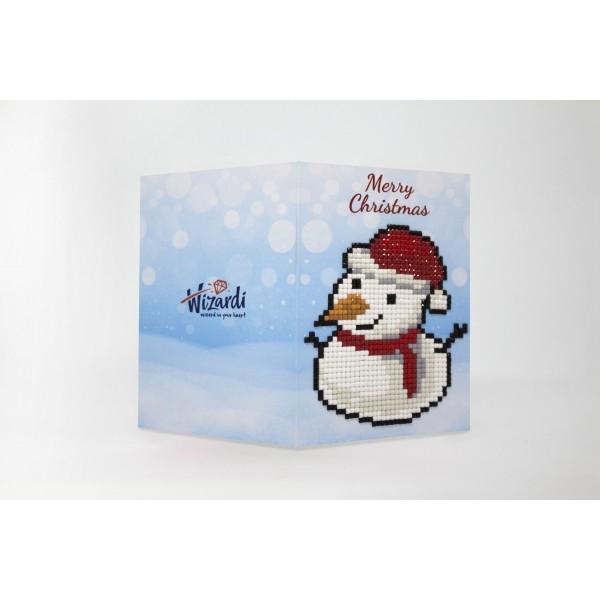 Broderie Diamant Kit- Joyeux Noël  WC0312 - Photo n°1