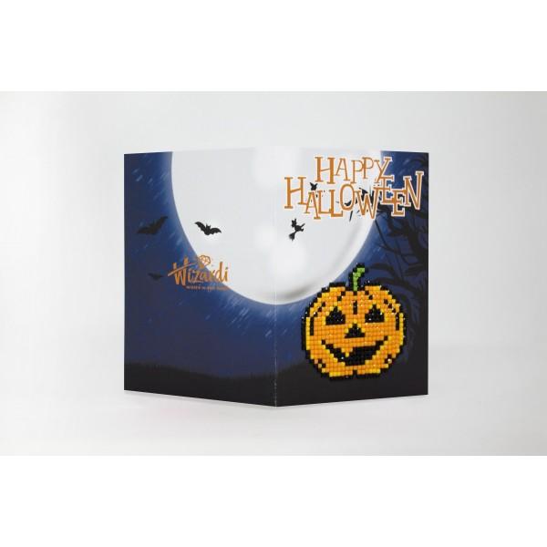 Broderie Diamant Kit- Joyeux Halloween WC0344 - Photo n°1