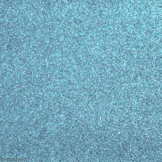 Tissu pailleté Bleu ciel - 70 x 45 cm