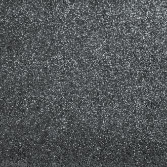 Tissu pailleté Gris béton - 70 x 45 cm