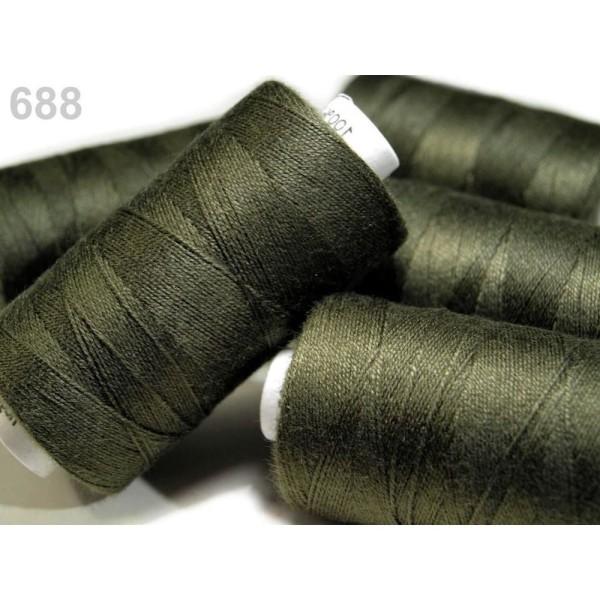 1pc Olivine 100% Polyester Jeans du Fil à Coudre 200m 30x3, les Autres Threads, Mercerie, - Photo n°1