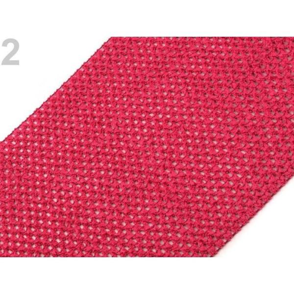 1m Raspberry Mesh Élastique Largeur 24-25cm, d'Autres, Tricot, Mercerie, - Photo n°1