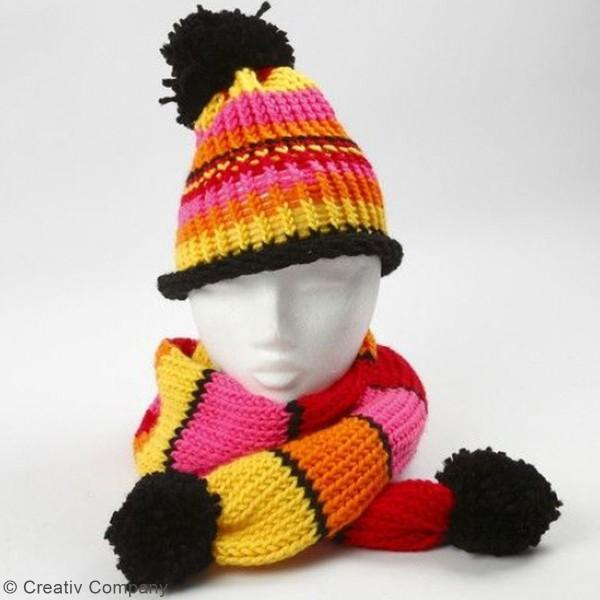Pelote de laine 100 % Acrylique - 50 g - Photo n°6