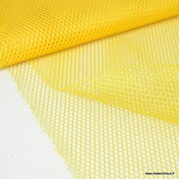 Tissu Filet Jaune - Photo n°1